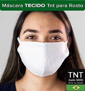 Mascaras Higiênicas de TNT com Dupla Proteção Kit com 50uni.