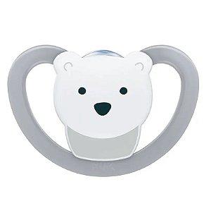 Chupeta Space - Urso Cinza  - (0m+) Tam.1 - Nuk