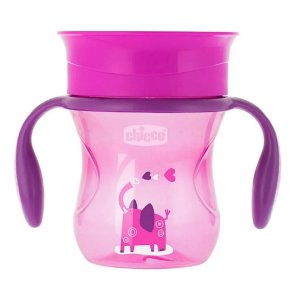 Copo Perfect Cup Rosa 12m+ - Chicco