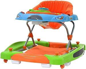 Andador e Centro de Atividades Baby Coupé (+6M) - Colorê - Burigotto
