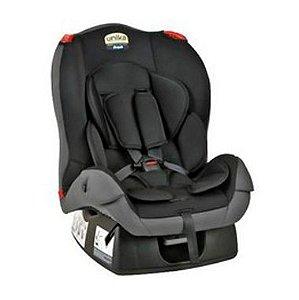 Cadeira para Carro Unika (até 25 kg) - Preto e Cinza - Burigotto