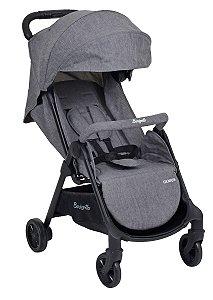 Carrinho de Bebê Genius Gray - Burigotto
