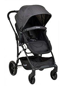 Carrinho de Bebê Convert (até 15 kg) - Cinza - Burigotto