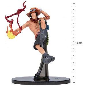 Boneco One Piece - Portgas D Ace - Original - BANDAI