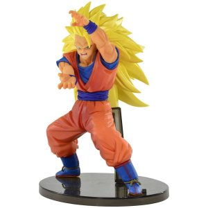 Boneco Dragon Ball Z- Super Saiyan 3 Goku- Original - BANDAI