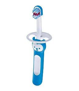 Escova Dental Baby Brush Cabo Curto (+6M) - Azul - MAM