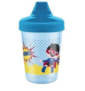 Copo Super Heróis 207ml Azul (6+) - Lillo