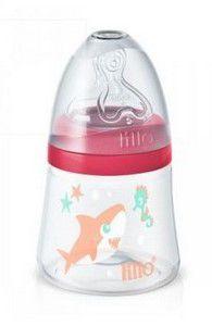Mamadeira Smart 120ml (+0M) - Tubarão Rosa - Lillo