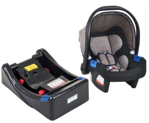 Bebê Conforto com Base Touring X (até 13 kg) - Cappuccino - Burigotto