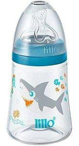 Mamadeira Smart 180ml (+3M) - Tubarão Azul - Lillo