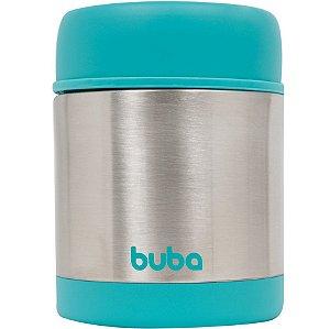 Pote Térmico Parede Dupla  350ml- Azul - Buba