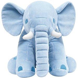 Pelúcia Elefantinho (+3M) - Azul - Buba