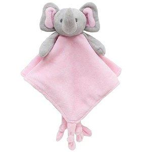 Naninha Elefantinho Abraço Rosa