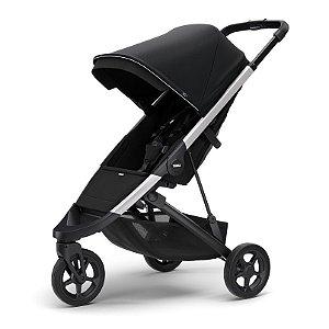 Carrinho de Bebê Spring Midnight Black Chassi Aluminio-Thule