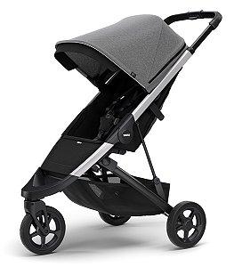 Carrinho de Bebê Spring Grey Melange Chassi Aluminio - Thule