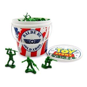 Balde De Soldados Toy Story Disney 60 Peças - Toyng