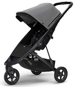 Carrinho de Bebê Spring (até 15 kg) - Grey Melange Chassi Black - Thule
