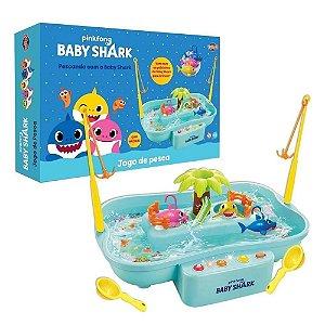 Jogo de Pesca Baby Shark com Música - Toyng