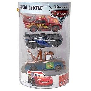 Cars 3 - Roda Livre Combo - Kit Com 3 Carros - Toyng