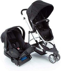 Carrinho de Bebê Travel System Trio Sky Black Class Infanti