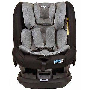 Cadeira para Auto Spin 360 com Isofix (até 36 kg) - Cinza - Burigotto