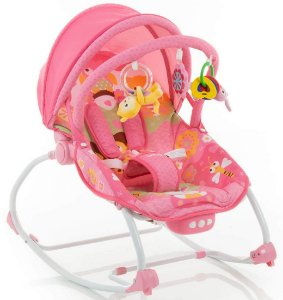 Cadeira de Descanso Bouncer Sunshine Baby Pink - Safety 1st