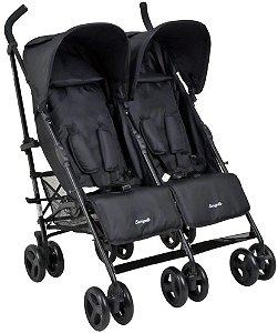 Carrinho de Bebê Twingo Black - Burigotto