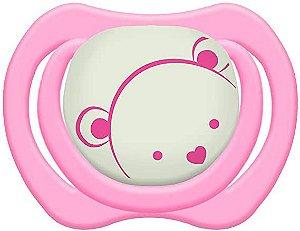 Chupeta Design Tam.2 (+6M) - Ursinho Rosa - Lillo