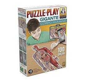 Puzzle Play Gigante Corpo Humano - Grow