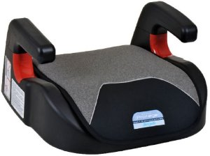 Assento para Carro Booster Protege (até 36 kg) - Mesclado Cinza - Burigotto