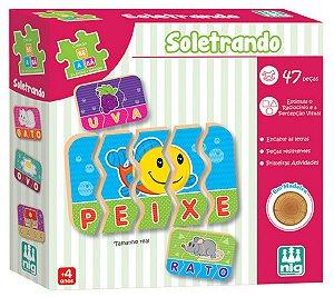 Jogo Educativo Soletrando - NIG Brinquedos