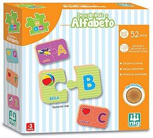 Jogo Educativo Descobrindo O Alfabeto - NIG Brinquedos