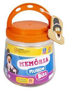 Jogo da Memória Infantil Mundo Bita - NIG Brinquedos