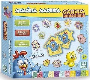 Jogo Da Memória Infantil Galinha Pintadinha - NIG Brinquedos