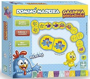 Dominó Infantil Galinha Pintadinha - NIG Brinquedos