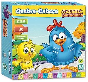 Quebra-Cabeça 30 Peças (+4 anos) - Galinha Pintadinha - NIG Brinquedos