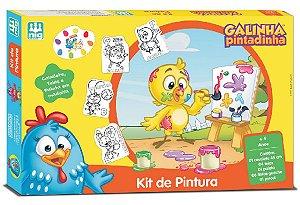 Kit De Pintura Galinha Pintadinha - NIG Brinquedos