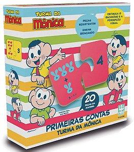 Jogo Primeiras Contas Turma da Mônica - NIG Brinquedos