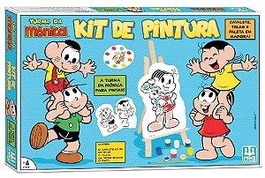 Kit De Pintura Turma Da Mônica - NIG Brinquedos