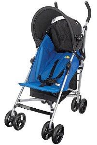 Carrinho De Passeio Easy Azul (Até 15 Kg) - Tutti Baby