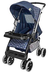 Carrinho de Bebê Thor Plus (até 15 kg) - Azul - Tutti Baby