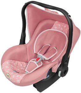 Bebê Conforto Nino Rosa Coroa (Até 13 Kg) - Tutti Baby