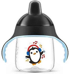 Copo Pinguim Preto 260ml - Avent