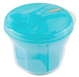 Dosador De Leite Em Pó E Porta Biscoito Azul - Comtac Kids