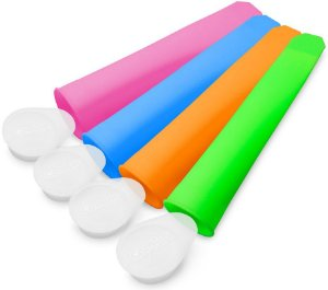 Formas Para Sorvete Ice Pop Fruit - Comtac Kids
