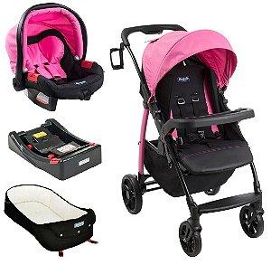 Conjunto Carrinho de Bebê Modulo - Azaleia - Burigotto