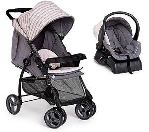 Conjunto Carrinho de Bebê San Remo - Rosa - Galzerano