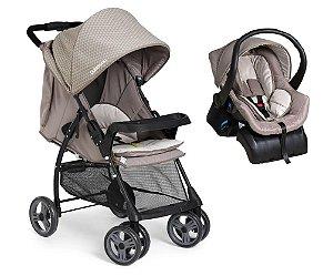 Conjunto Carrinho de Bebê San Remo - Bege - Galzerano