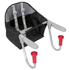 Cadeira de Encaixe para Refeição Fit (até 15 kg) - Preto - Tutti Baby