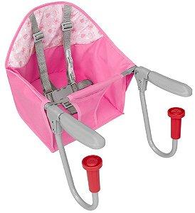 Cadeira para Alimentação de Encaixe Fit (até 15 kg) - Rosa - Tutti Baby